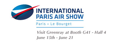 Paris Air Show 6.15 to 6.21 GRI Booth G41 Hall 4